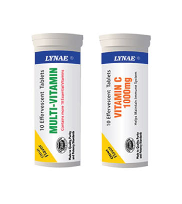 LYNAE® Effervescent Tablets
