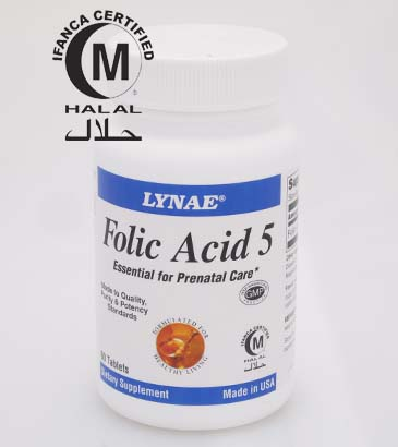 LYNAE® Folic Acid 5