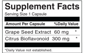 Grape Seed Extract 60mg