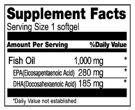 Boscogen_Mega Marine Fish Oil_1000mg_60 sfgls