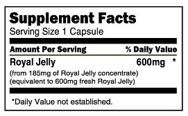 Boscogen_Royal Jelly_600mg_60 capsules