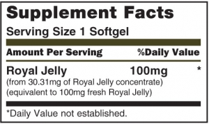 Royal Jelly 100mg