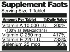 Vitamin ACES