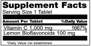Vitamin C 30 with bioflavonoid 0408BL