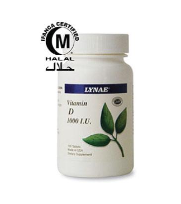 LYNAE® Vitamin D3 1000 I.U.