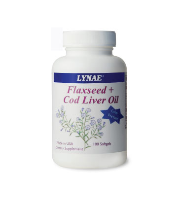LYNAE® Cod Liver Oil + Flaxseed Oil Cold Pressed