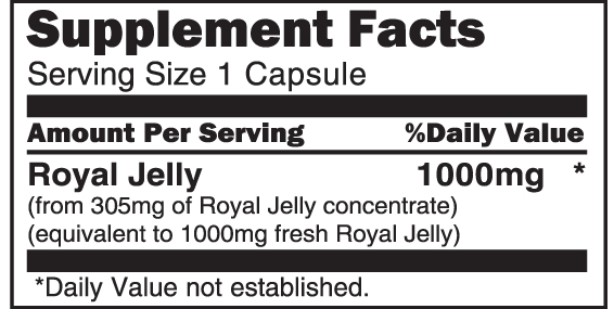 Royal Jelly 1000mg