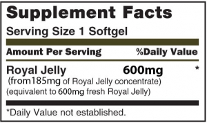 Royal Jelly 600mg