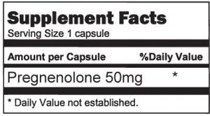 Pregnenolone 50mg
