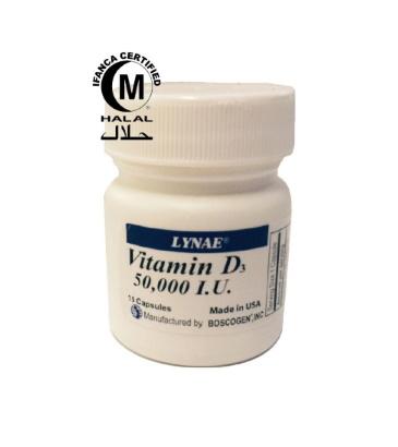 LYNAE® Vitamin D3 50000 I.U.